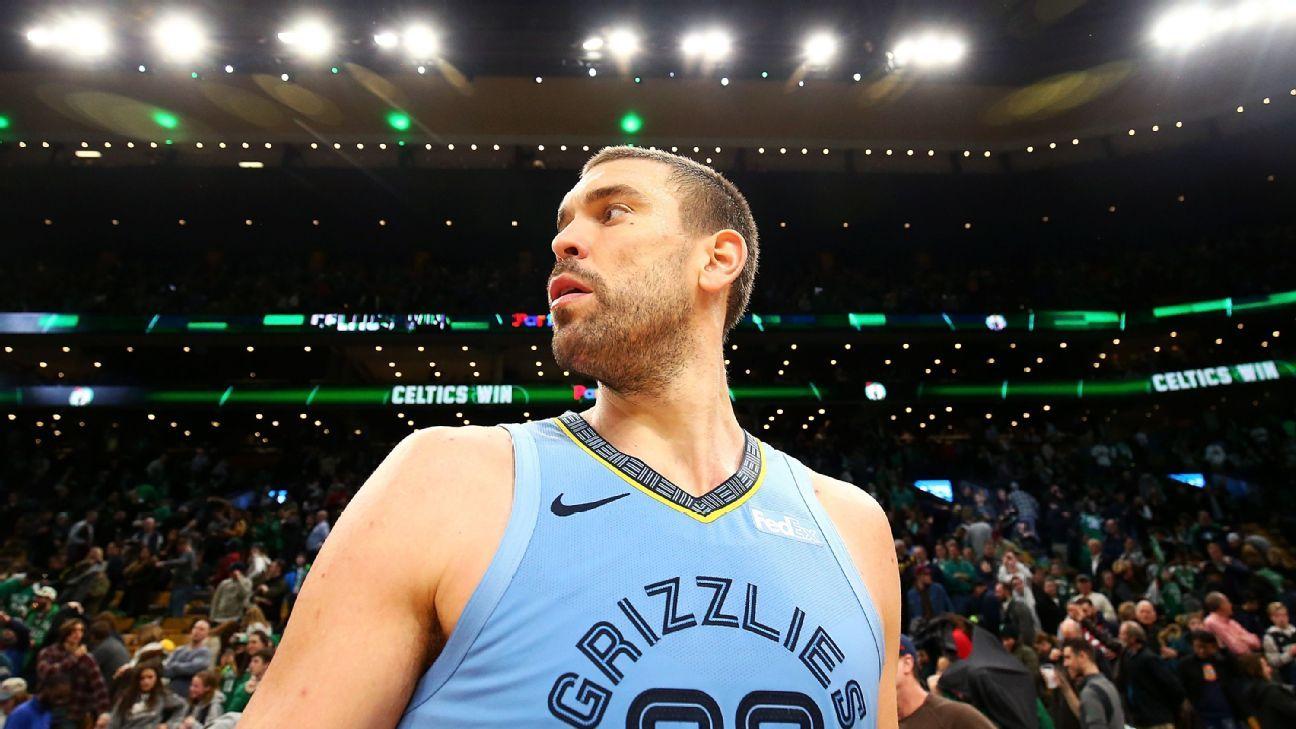 Fuentes: Grizzlies evaluarían negociar a Marc Gasol y a Mike Conley