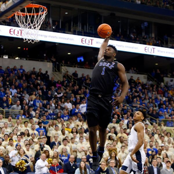 With Jay-Z sitting courtside, Zion Williamson (25 points) helps Duke coast by Pitt