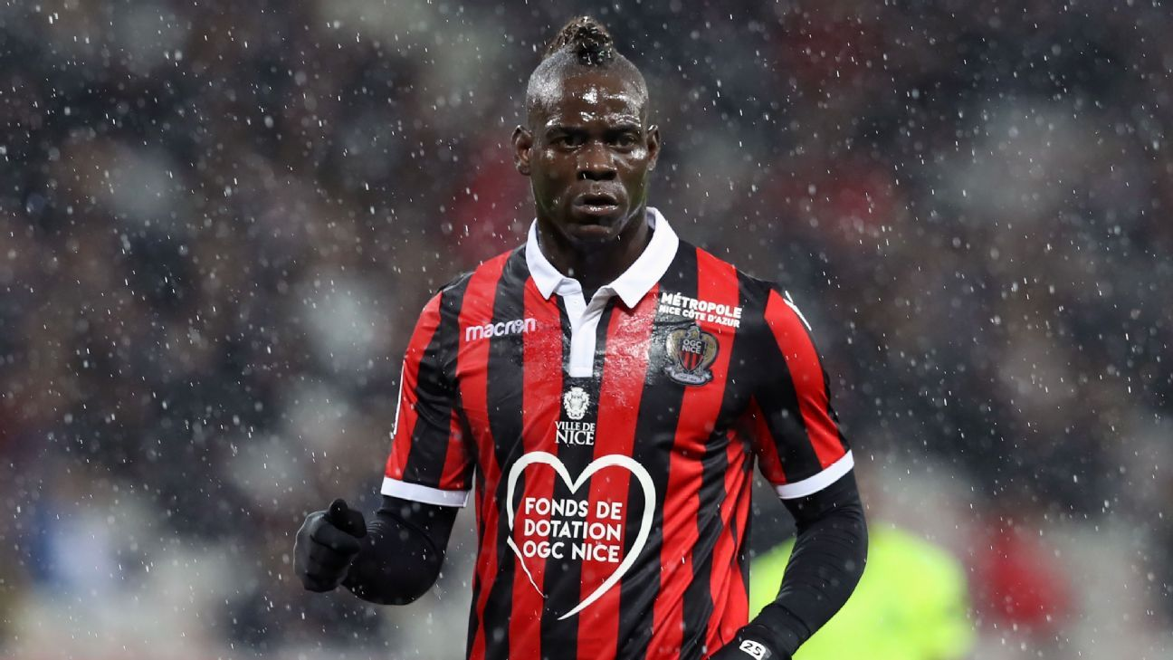 Mario Balotelli joins Marseille on short-term deal after leaving Nice