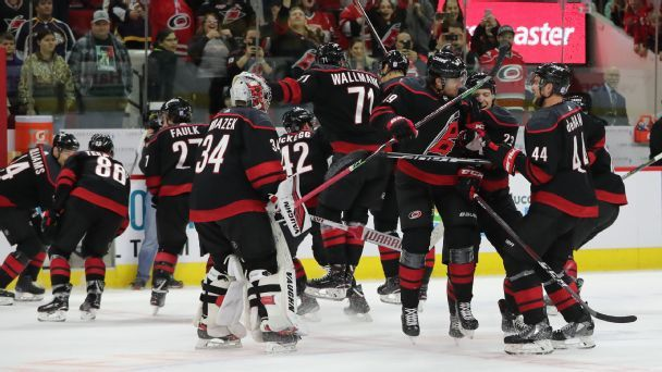 The imperfect joys of the Carolina Hurricanes