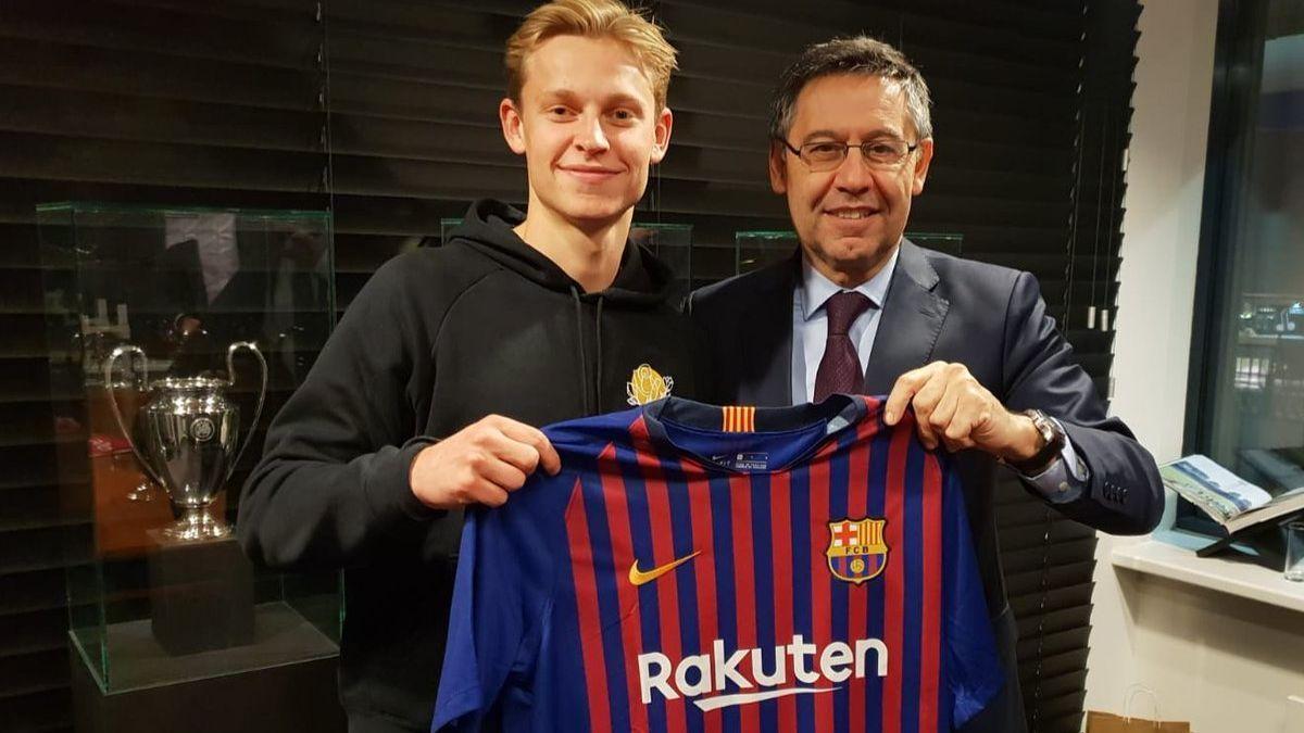 Frenkie de Jong jugará un rol fundamental en el nuevo Barcelona