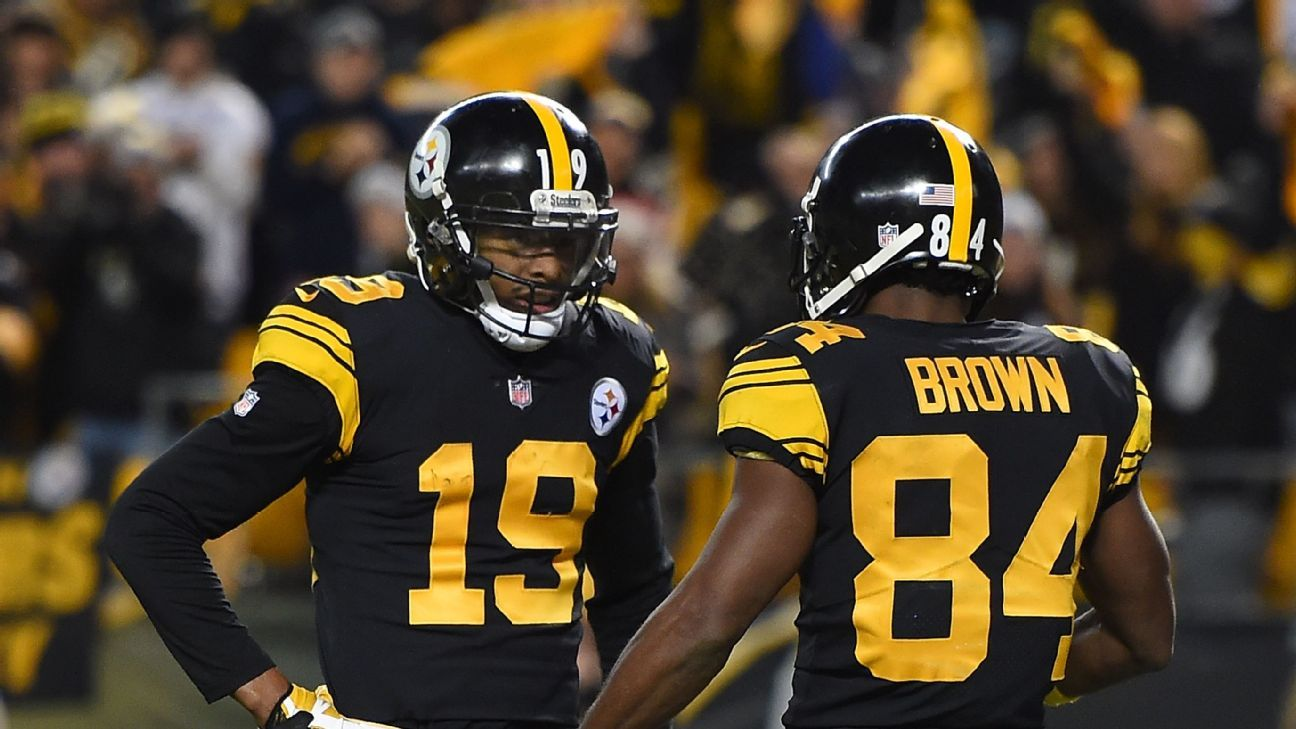 Maurkice Pouncey y JuJu Smith-Schuster apoyan a Antonio Brown desde el Pro Bowl
