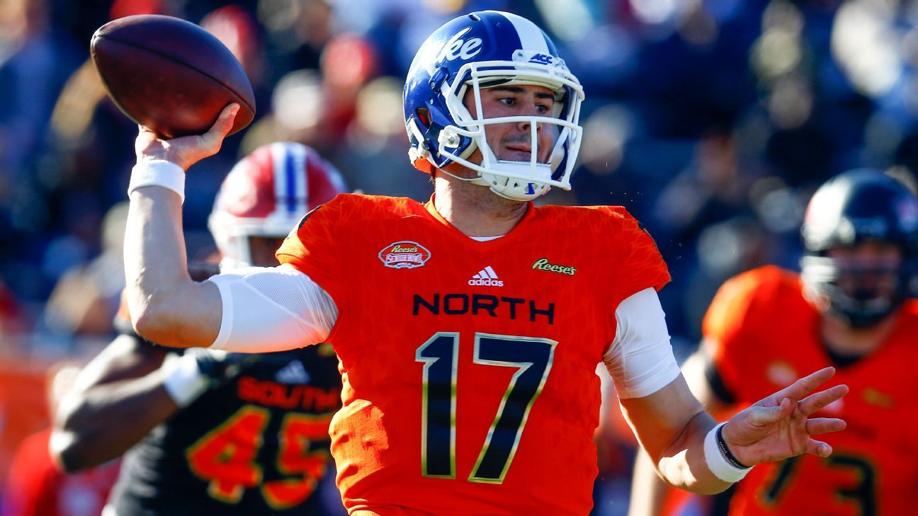 Daniel Jones impulsa el triunfo de North en el Senior Bowl