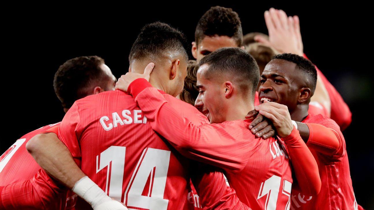 Gareth Bale returns with score as Real Madrid thrash Espanyol