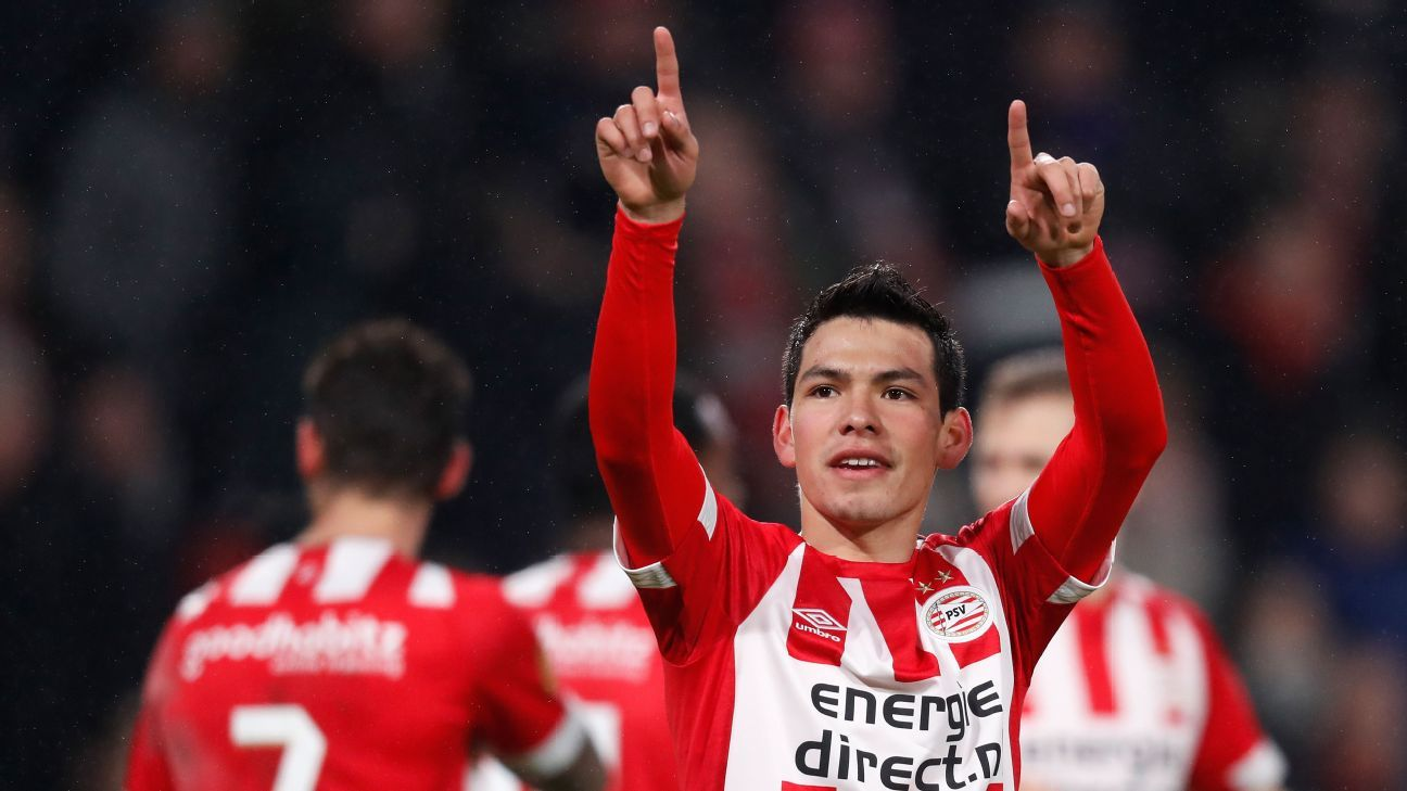 Mexico's Hirving Lozano 'absolutely' ready to join elite club - Martino