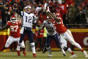 Chiefs fan fined $500 for flashing laser at Brady