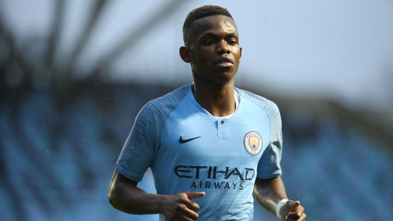 Manchester City winger Rabbi Matondo, 18, signs with Schalke