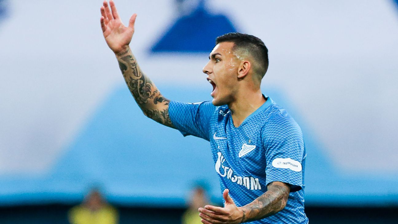 Paris Saint-Germain confirm Leandro Paredes signing from Zenit Saint Petersburg