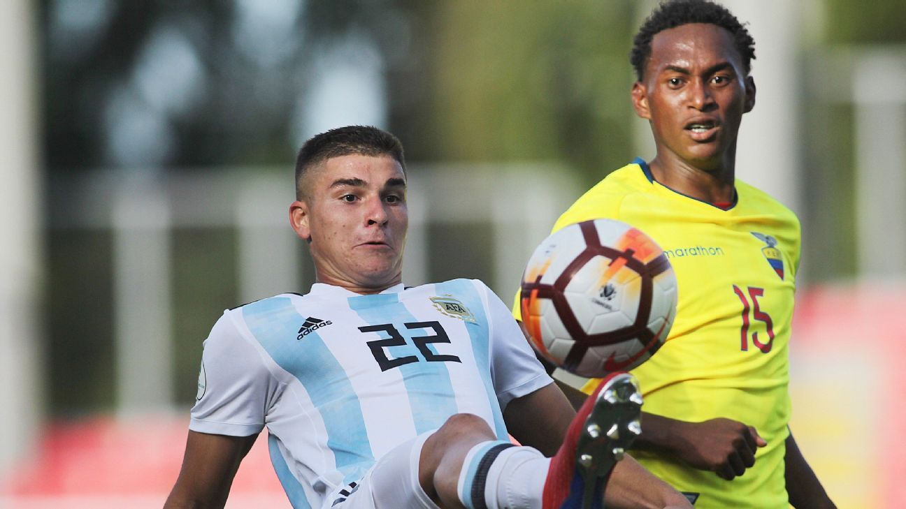 Ecuador lidera el 11 ideal del Sudamericano Sub 20