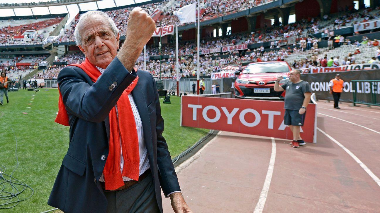 D'Onofrio le propuso a Macri un estadio para River y Boca