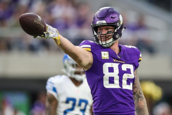 Rudolph confirms talks with Vikes on 5-year deal