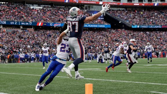 Rob Gronkowski's greatest catches, including Tom Brady's favorite