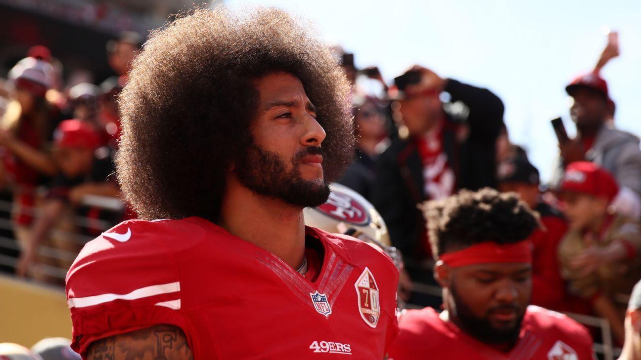 Ex-QB dos 49ers, Kaepernick chega a acordo com a NFL