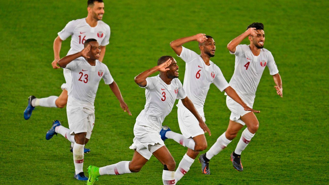 Ranking Fifa: Catar 'pega elevador' e ganha quase 40 posições após título da Copa da Ásia