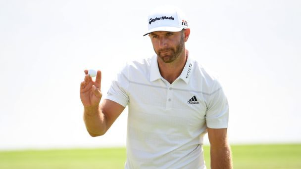 Dustin Johnson storms to Saudi International lead with nine-under round
