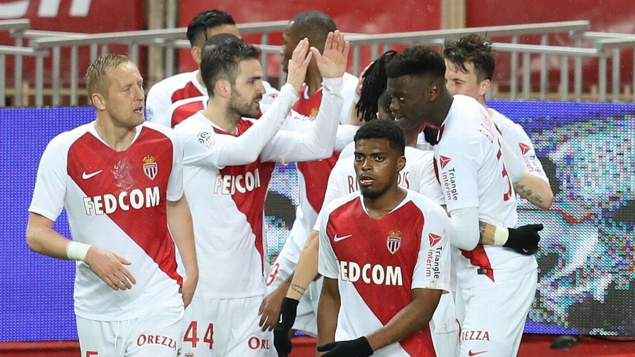 Cesc Fabregas nets winner in Monaco's first win in seven league games