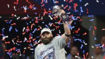 Unlikely Super Bowl MVP Julian Edelman: 'Just got to keep it going'