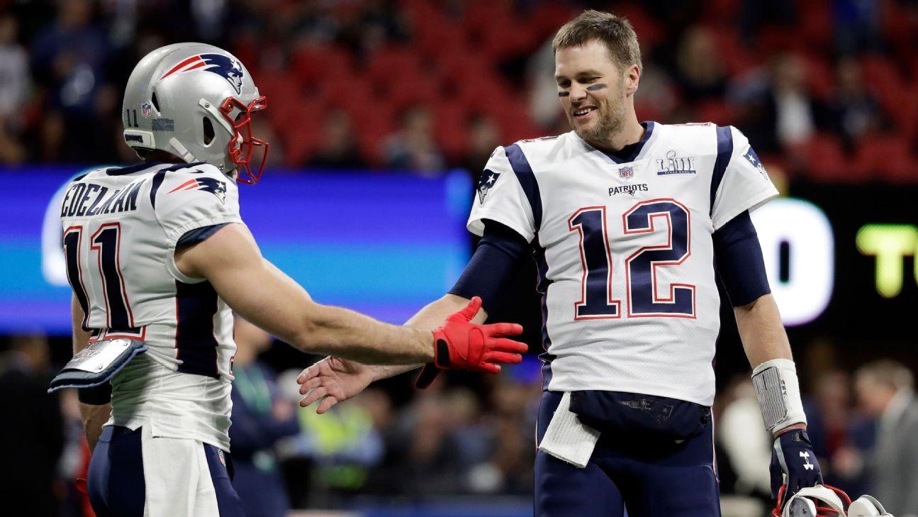 Fuentes: Edelman renueva por dos temporadas con Patriots