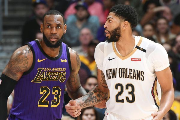 """Anthony Davis to appear on LeBron's show """"The Shop"""""""