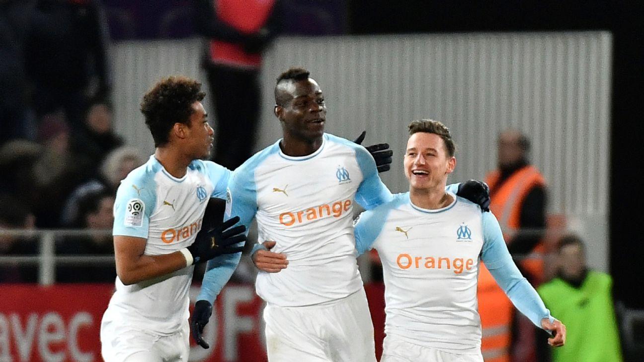 Mario Balotelli strikes again as Marseille see off Dijon in Ligue 1