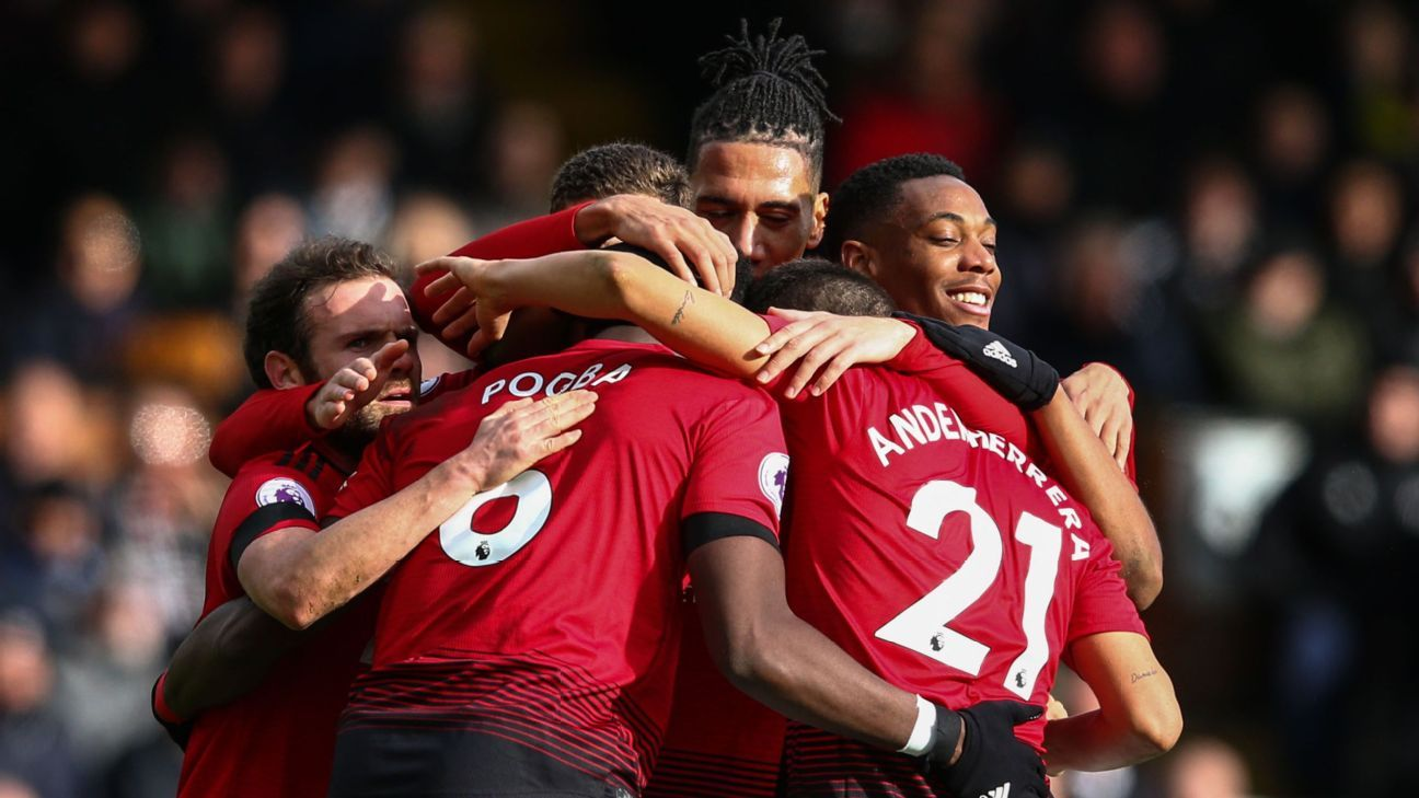 Solskjaer's magic continues to work for Man United as they shrug past Fulham and crack the top four
