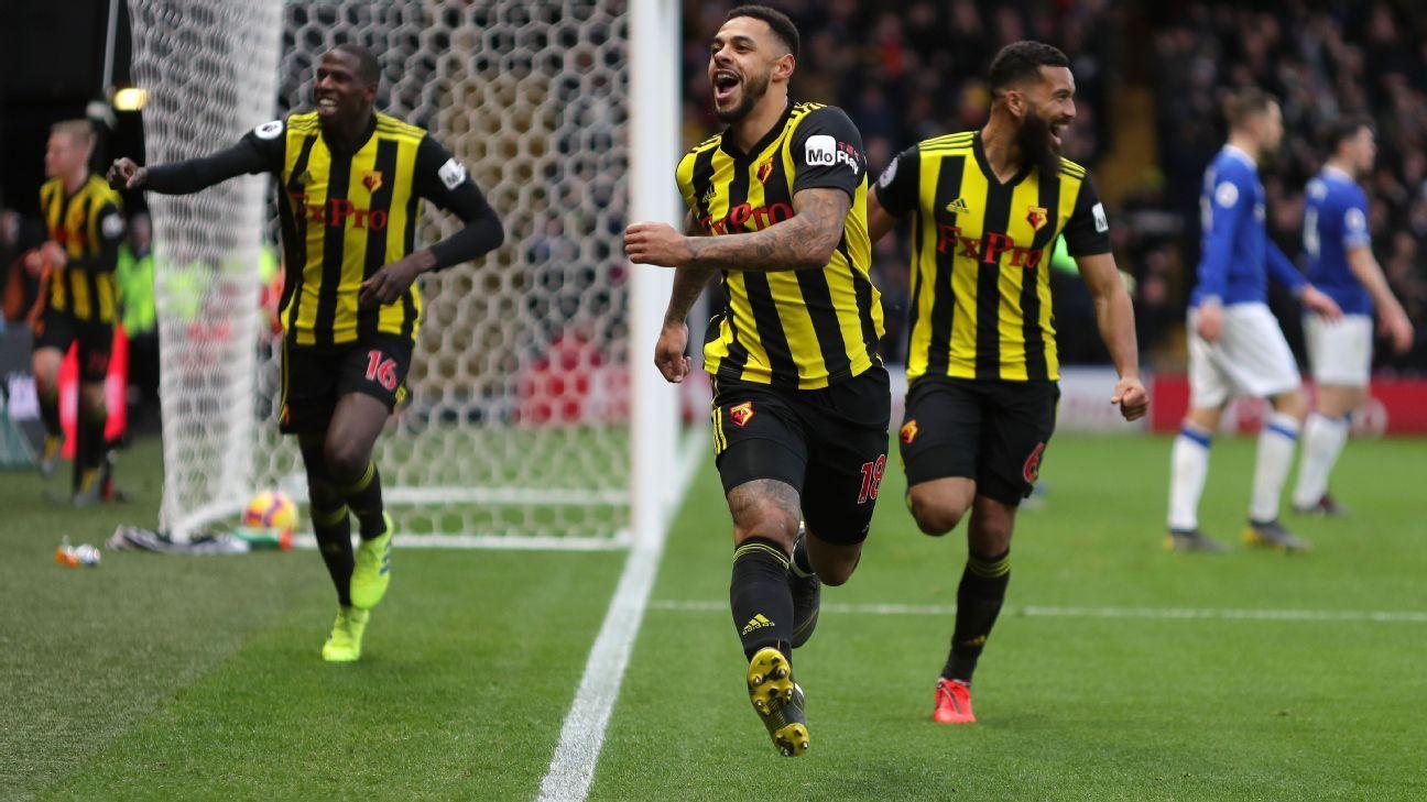 Watford pile pressure on Marco Silva as Andre Gray goal beats Everton