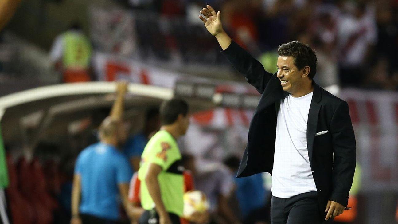 "Gallardo: ""Me sigo formando como entrenador"""