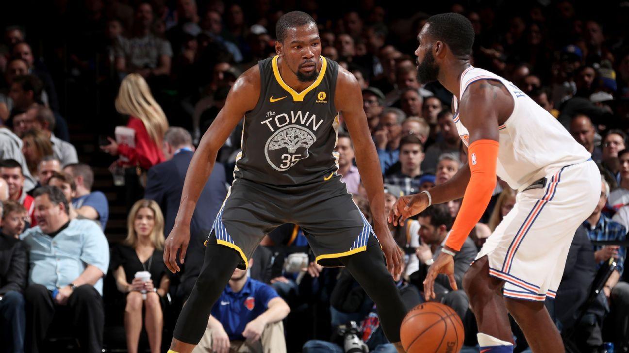 NBA: Durant nos Knicks? Atletas dos Warriors acreditam que astro vai para o time de Nova York na próxima temporada
