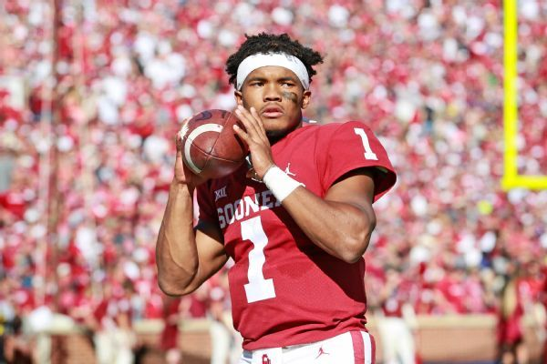 Kyler Murray not sure he'll throw at NFL Combine