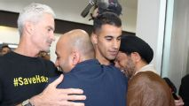 Hakeem al-Araibi arrives back in Australia after being released from Thai prison