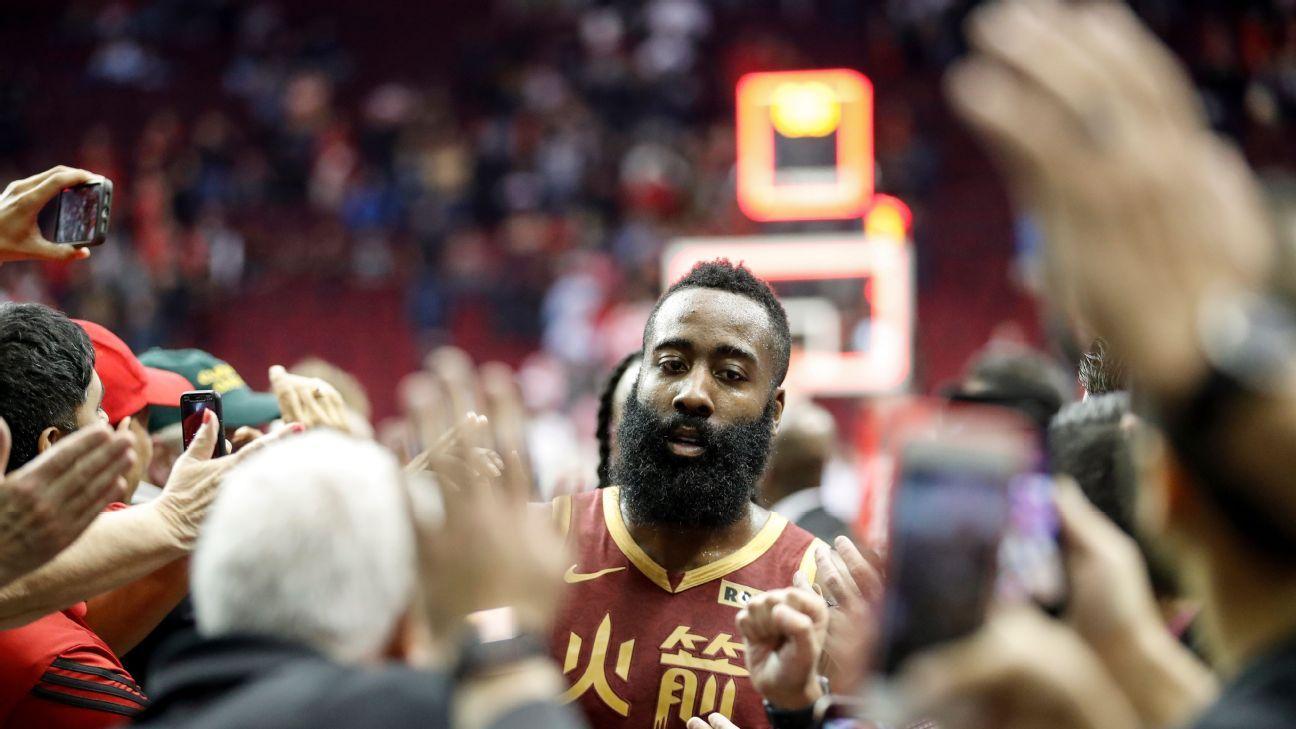 James Harden: La necesidad de Rockets generó la racha