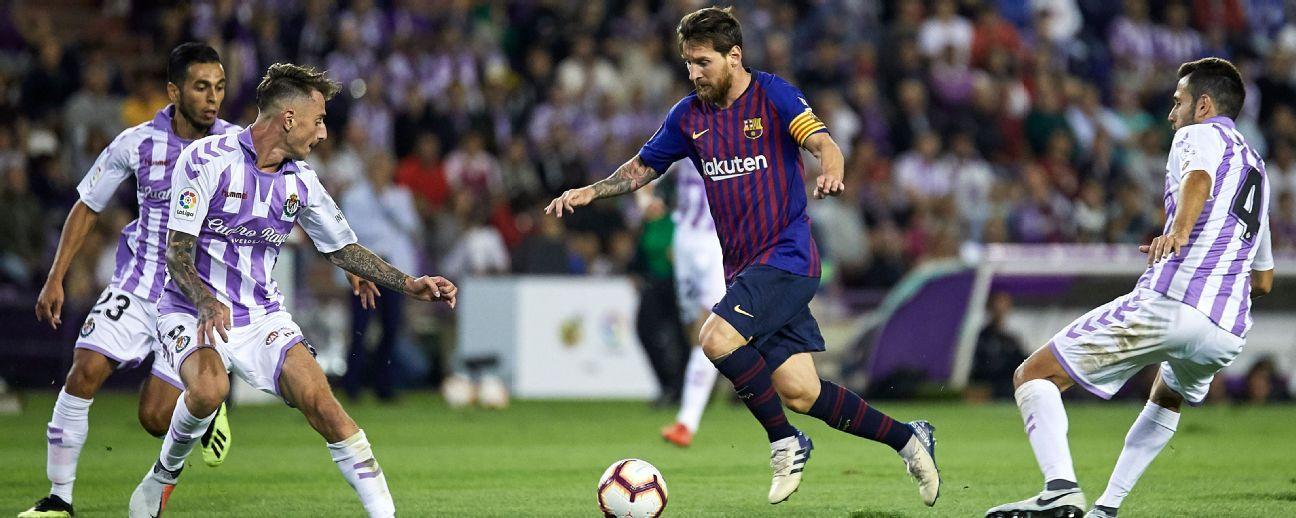Barça, a evitar sorpresas ante el Valladolid