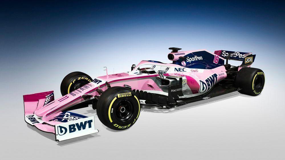 Presentan el SportPesa Racing Point, nuevo auto de Checo Pérez