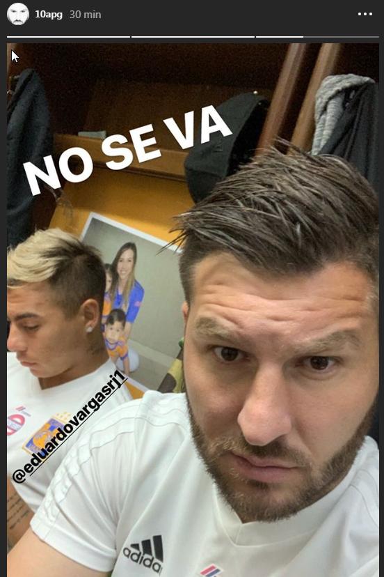"""""""No se va"""", mensaje de Gignac sobre posible salida de Vargas"""