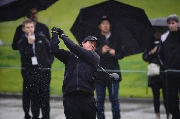 PGA Tour resets Genesis Open scores after weather delay