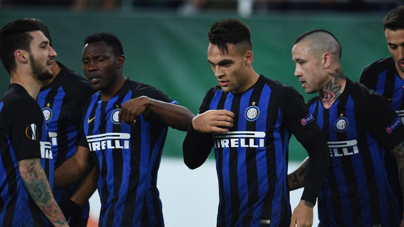 Martinez strikes again as Inter Milan beat Rapid Vienna without Icardi