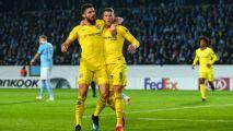 Ross Barkley, Olivier Giroud score in Chelsea's Europa win over Malmo