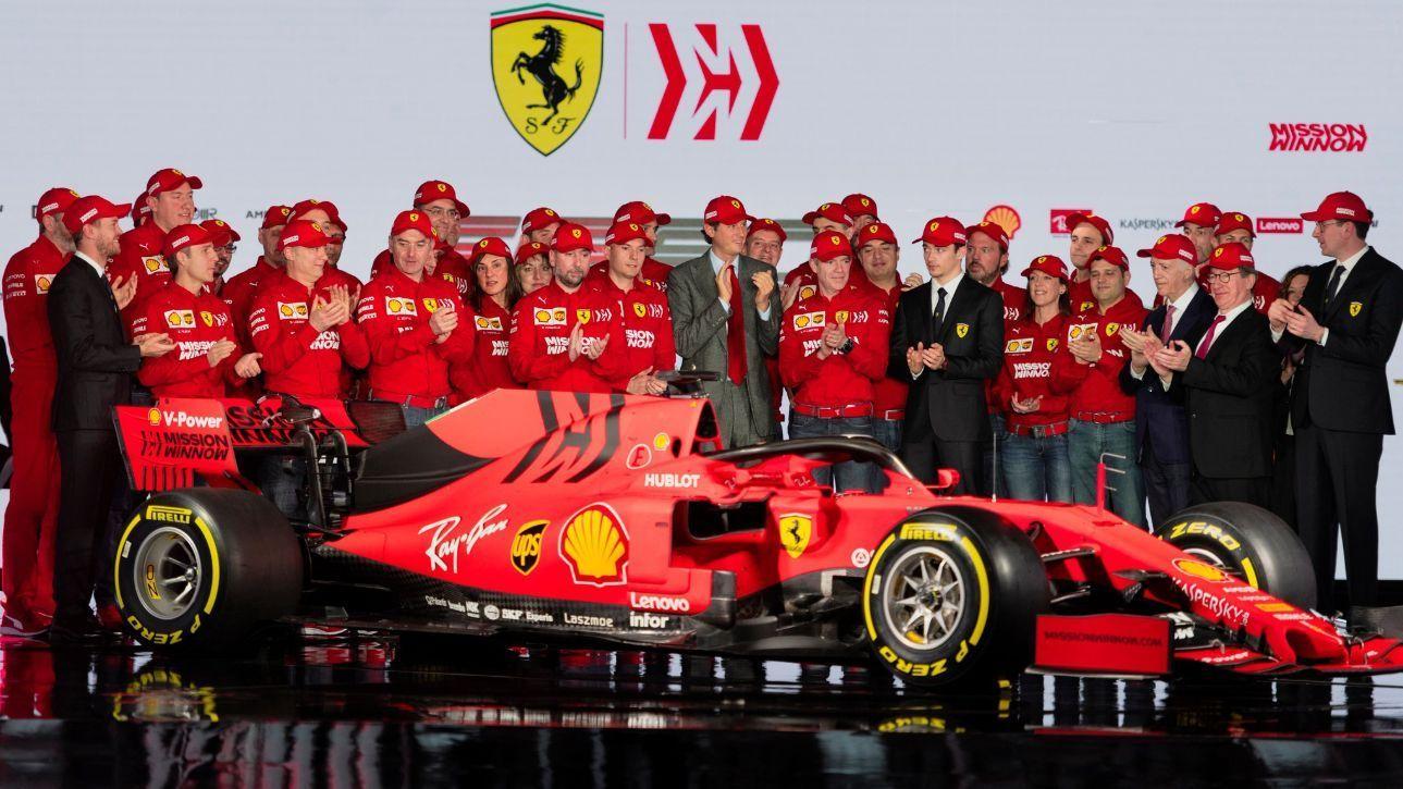 Fórmula 1: Ferrari escurece vermelho e usa mais preto em 2019