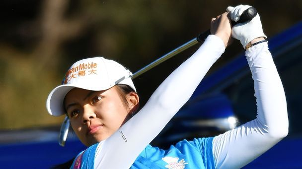 LPGA Women's Australia Open: Hsu, Sagstrom share lead at halfway mark