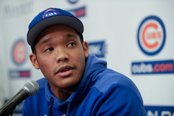 Addison Russell speaks publicly for first time since suspension