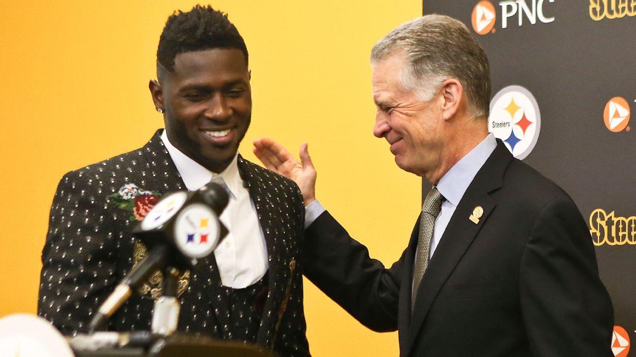 Presidente de los Steelers, Art Rooney II, se reunirá con Antonio Brown