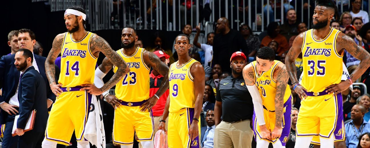 Lakers no son favoritos para llegar a playoffs