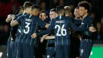 Man City keep 'quadruple' pursuit alive as everybody wins in throwback FA Cup tie at Newport County