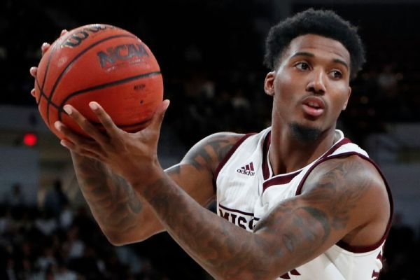 Nick Weatherspoon suspended by Mississippi State for rules violation