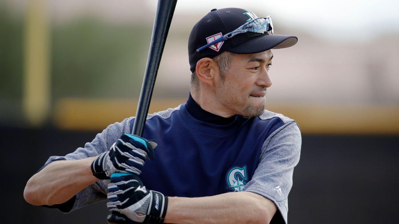 Ichiro Suzuki llega a campamento de M's con mira en jugar en casa