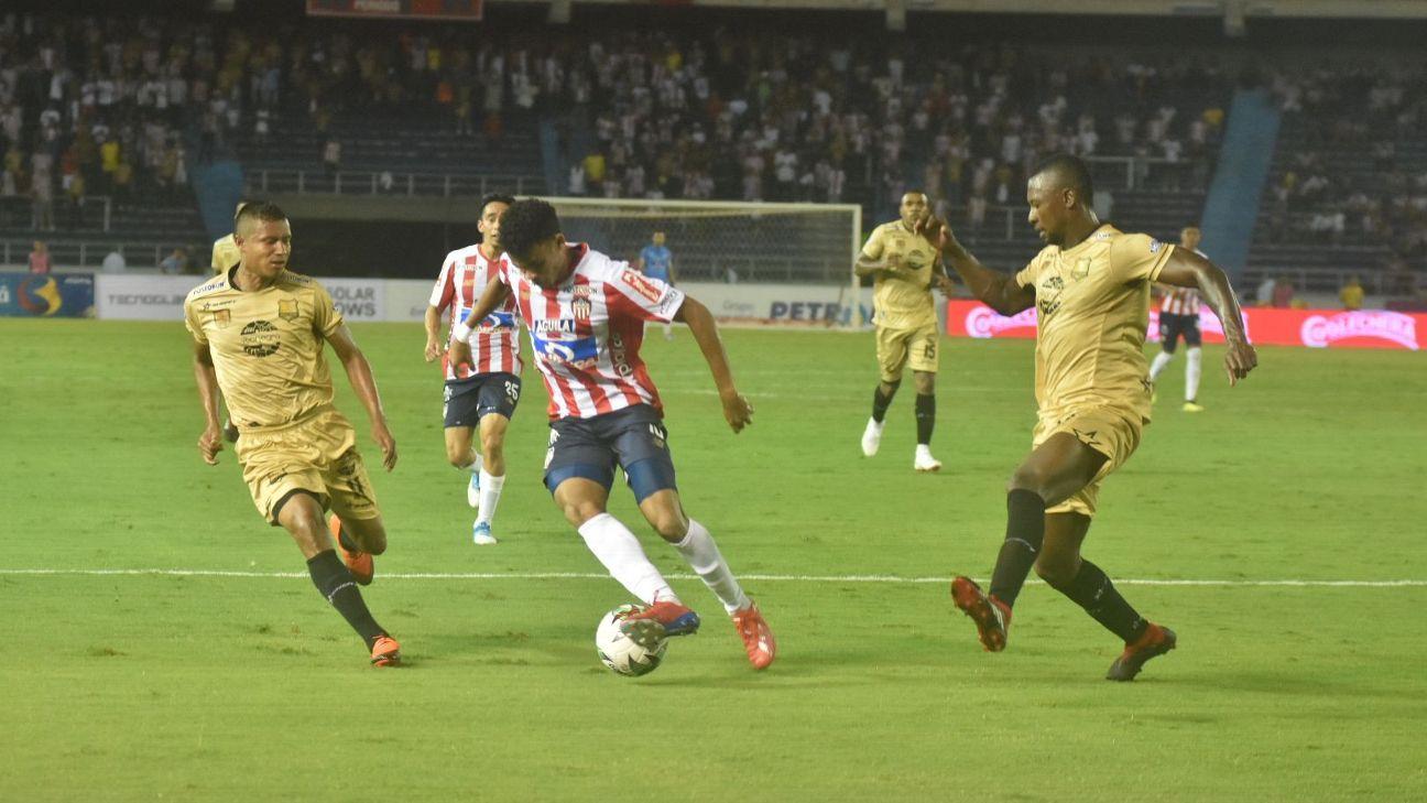 Junior le empató en la última a Rionegro y salvó el invicto