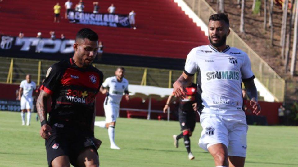 Ceará busca empate com o Vitória no Barradão e segue invicto na Copa do Nordeste