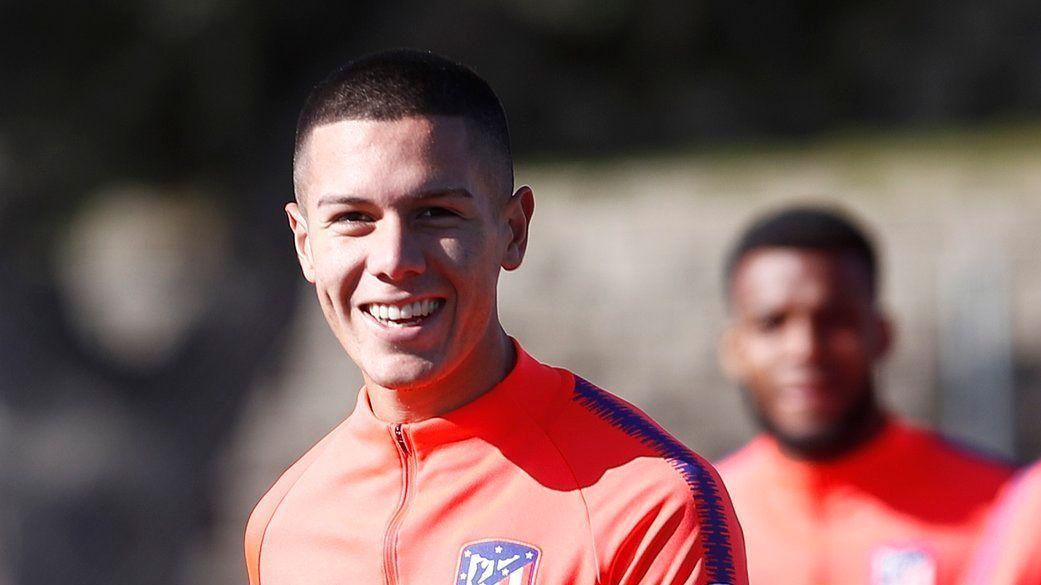 Nehuén Pérez se incorpora al trabajo del Atlético Madrid