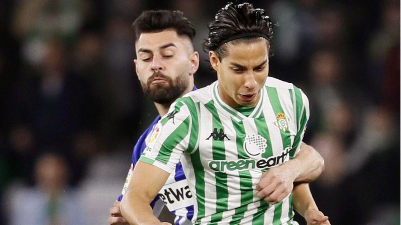 Lainez y Guardado son titulares en empate ante Alavés 91d774c0d1ece