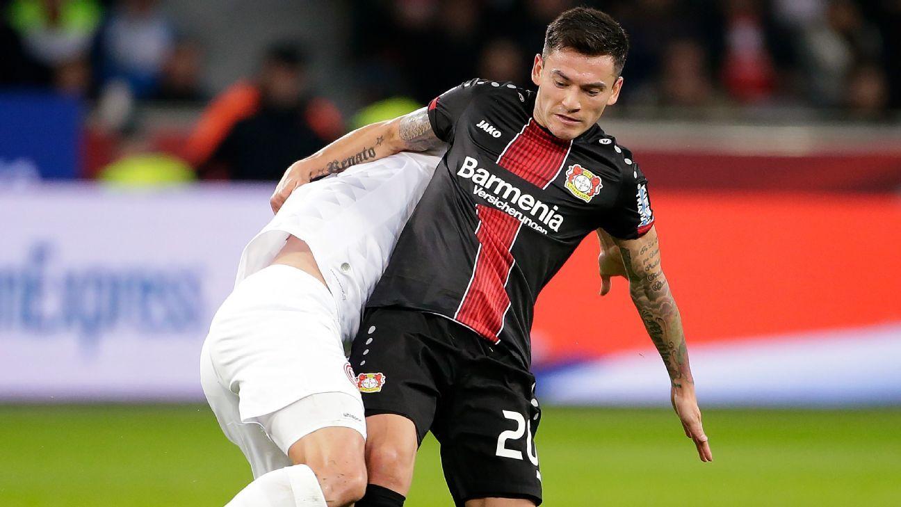 Con Aránguiz, Leverkusen venció a Düsseldorf